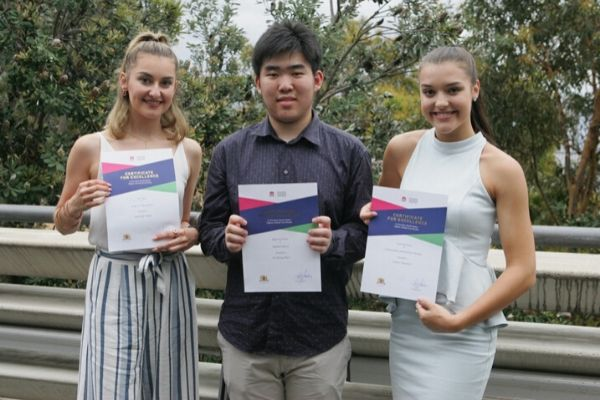 St Patrick's College Sutherland - students of HSC